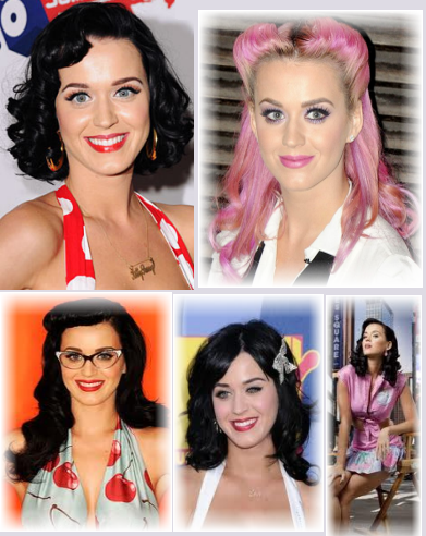 Katy Perry Retro look