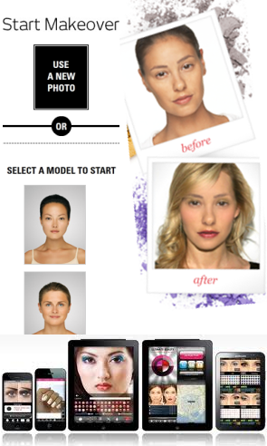 Virtual Makeover applications