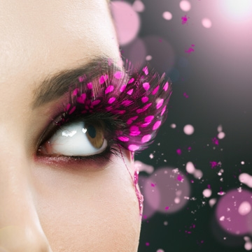 feather eyelash extensions