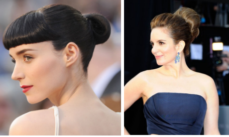 Rooney Mara and Tina Fey
