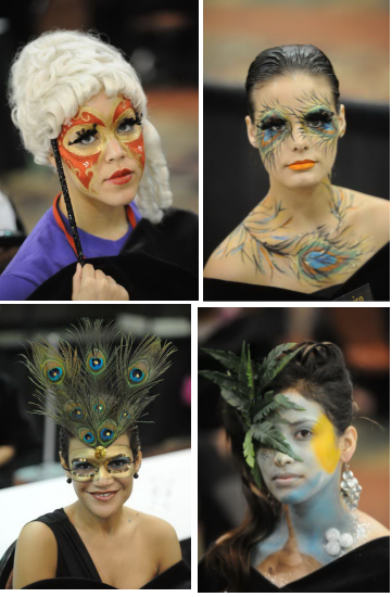 Empire Beauty School Students - Makeup Artistry