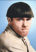 Men's Hair Trend- Moe Howard