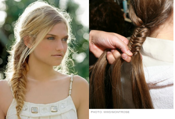 Fishtail Braid - beauty school1