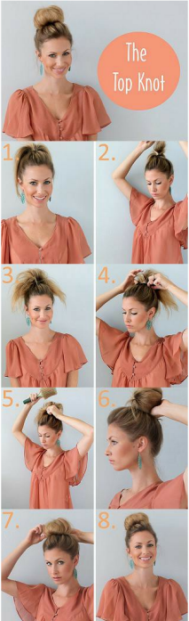 Top Knot tutorial
