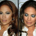 Beauty Tip - smokey blue eye shadow