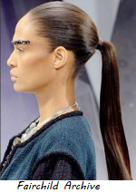 Fall Trend - Sleek ponytail