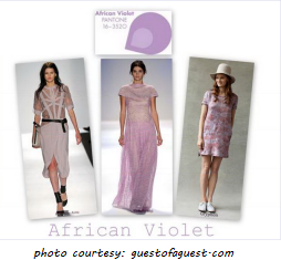 Fall 2013 Trend colors -