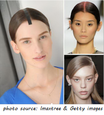 Spring Hair Trend - Exaggerated Parts