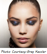 fall trend 2013 - blue eyeshadow
