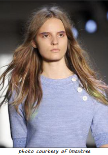 Spring Hair Trend - bed head