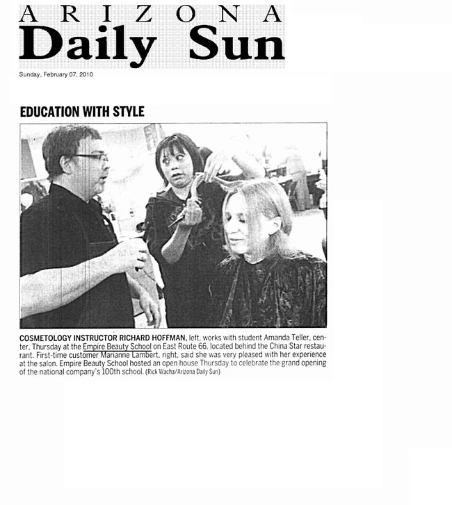 flagstaff empire beauty school arizona daily sun