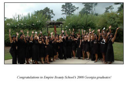 congratulations georgia cosmetology school graduates