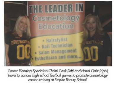 Avondale Empire Beauty School Students