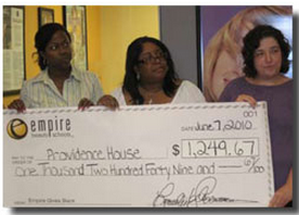 providence house receives funds bordentown nj school