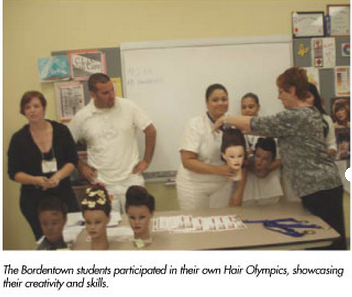 nj cosmetology school holds hair olympics