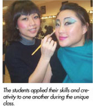 manhattan makeup program career fair highlight march