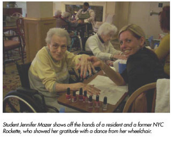 pittsburgh beauty school offers manicures elderly residents