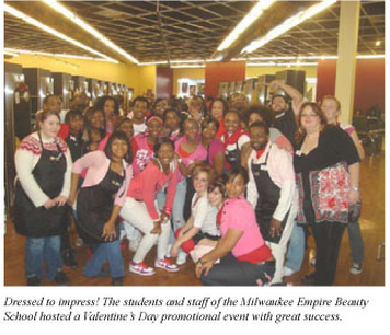 milwaukee school hosts valentines day promotional event