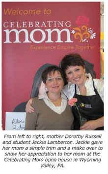 wyoming valley pa cosmetology school continues celebrating mom tour