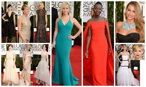 Red Carpet Fashion Golden Globes 2014 Empire Beauty School