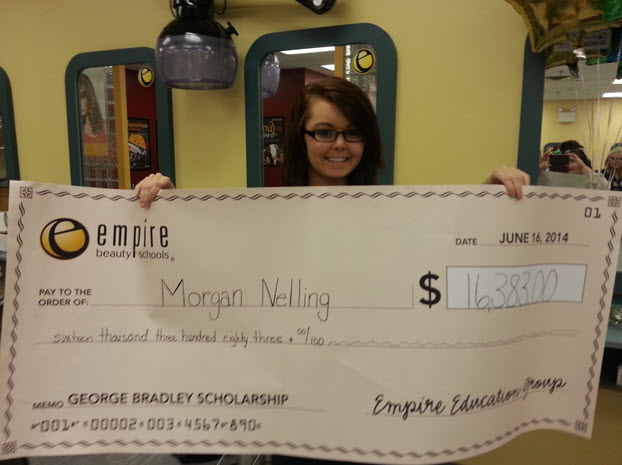 empire beauty school awards full scholarship