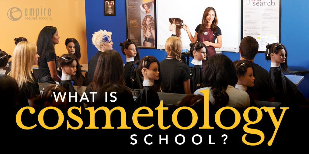 cosmetology and college search