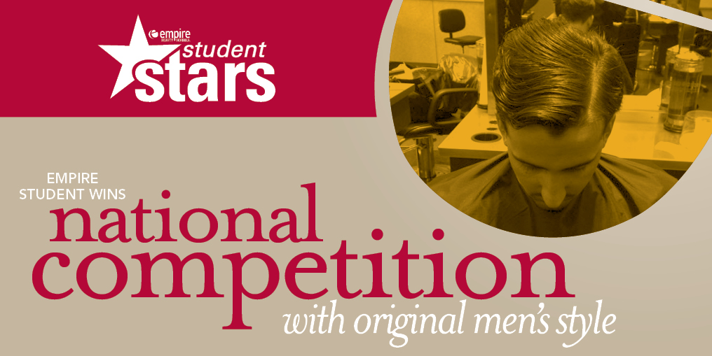 student star empire student wins national competition original mens style