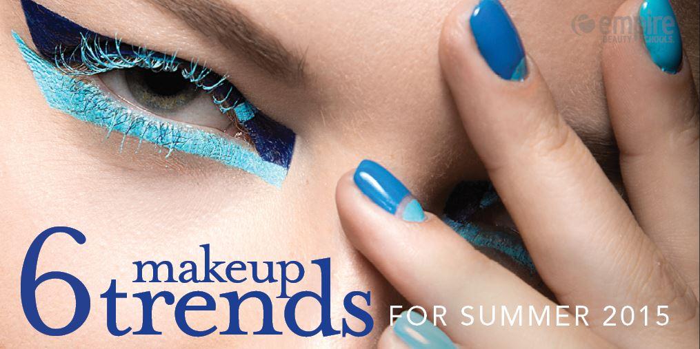 6 Hot Summer Makeup Trends for 2015