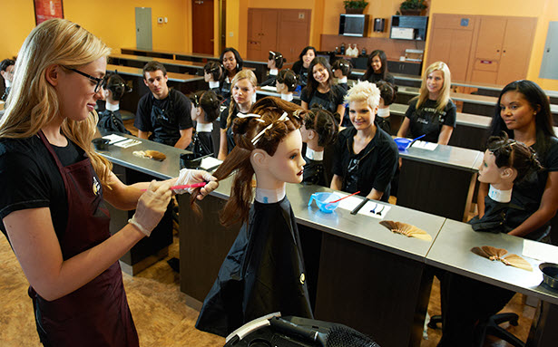 how to teach cosmetology in high school