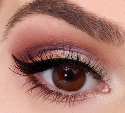 How to Do Daytime Brown Eye Makeup