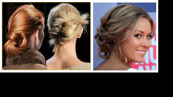 Twists and chignons