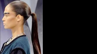 Fall Trend - Sleek ponytail