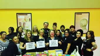 Aurora Beauty School Gives Back