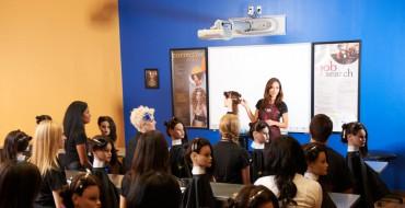 Hands on Learning in Beauty School