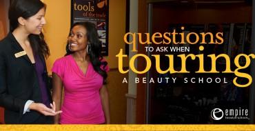 Touring a Beauty School