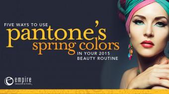 Pantone's Spring 2015