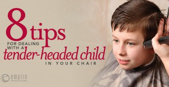 Tips for Dealing with a Child at the salon