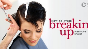 Breaking up with your hairs stylist