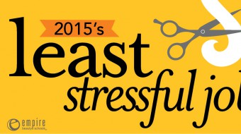 2015 Least Stressful job