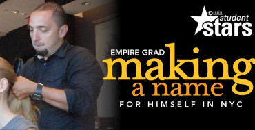 Empire Grad makes a name in NYC