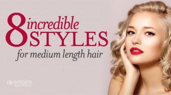8 Medium Length Hairstyles