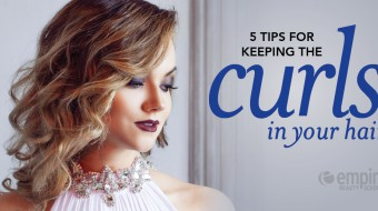 Tips for keeping curls in your hair