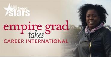Empire Graduate Takes Career International
