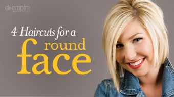 4 Haircuts for round faces