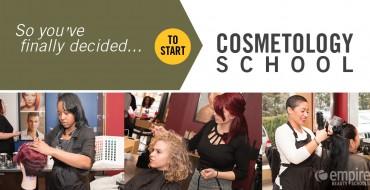 Starting Cosmetology school