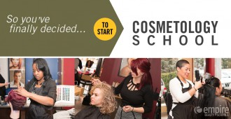 Starting Cosmetology school