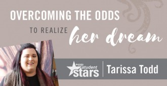 Overcoming the odds to realize her dream