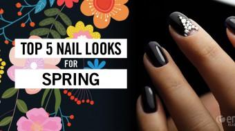 Spring-Nails-Color-Cosmetology-Glitter-Black-Rhinestone-Pink-Green-Grey-Metallic-Silver