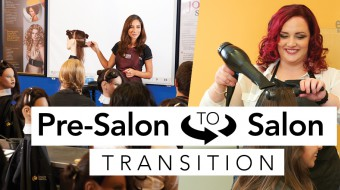 Pre Salon- Salon Floor- Cosmetology- Beauty- Industry- Fashion - Student-Learning- Education- Empire