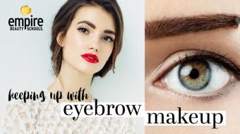 Eyebrow-Makeup-Empire-Beauty-School-Students